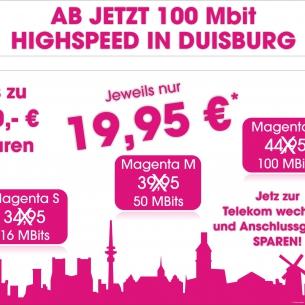 bis zu 100 Mbit